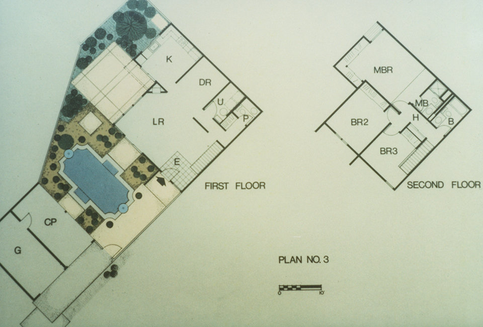 Title for Cluster house floor plan