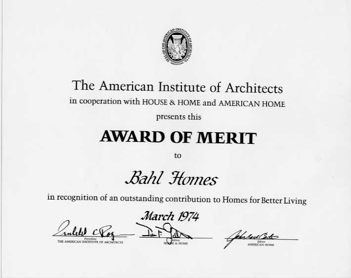 AIA Award of Merit