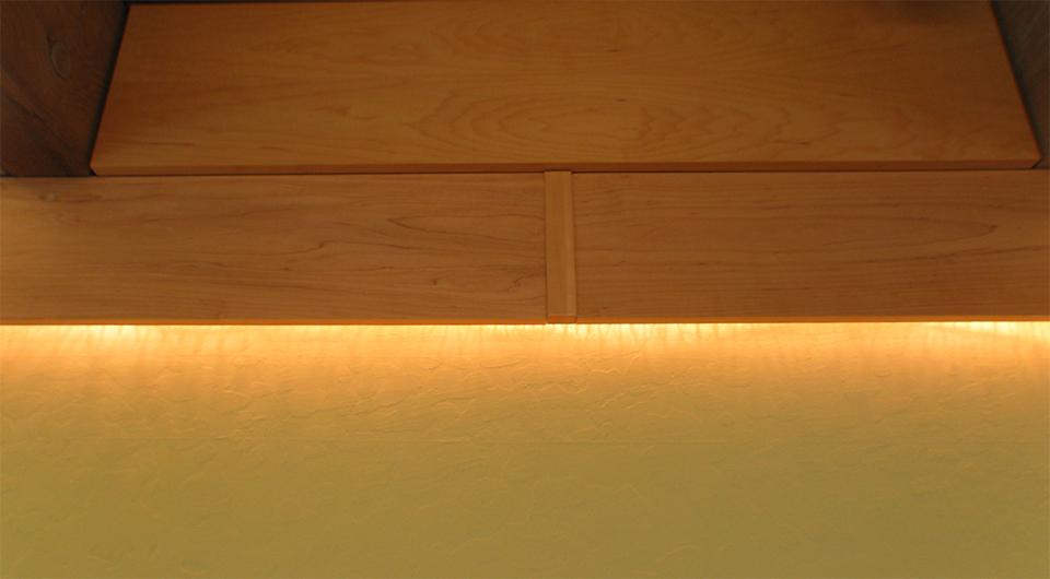 Rope lighting for Interior rope lighting ideas