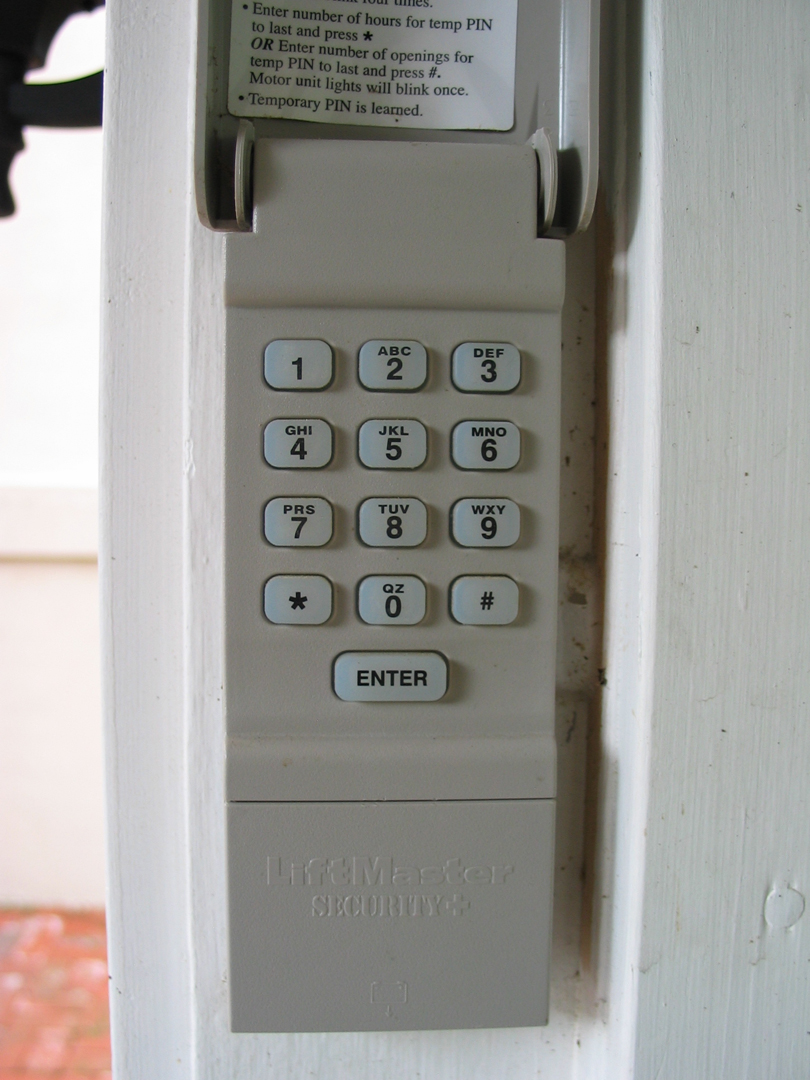 Door key pads